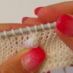 how to knit a nupp (1)