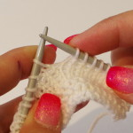 how to knit a nupp (2)
