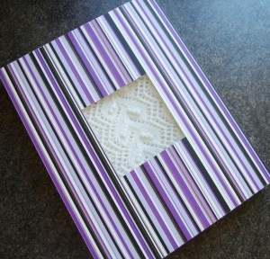 DIY box for knitted shawls