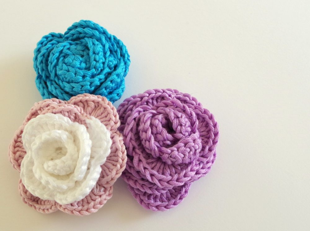 What do you do with those crochet roses?