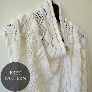 summer lace shawl pattern for mothers day