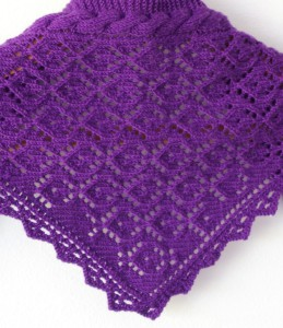 Knit scarf pattern (no curl)