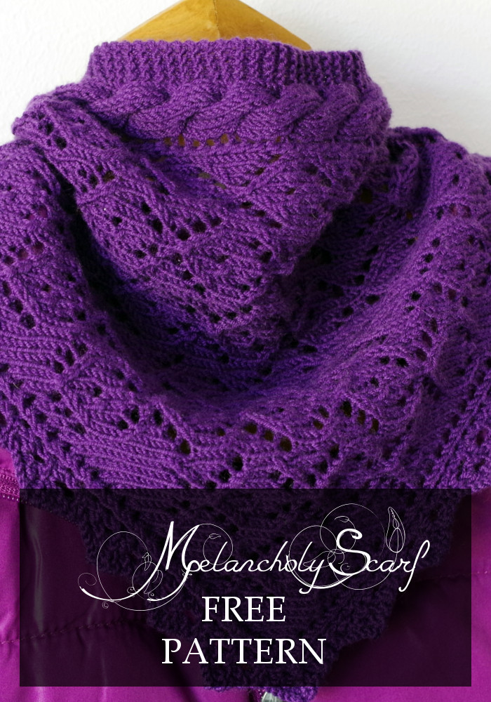 Knitting Pattern For Melancholy Scarf Pattern Duchess
