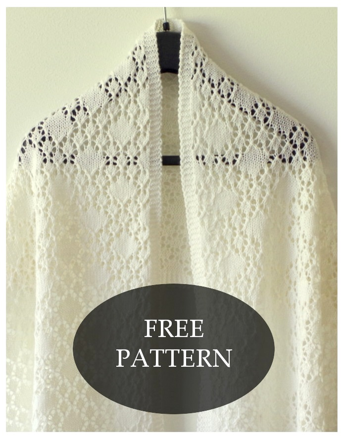 Shawl of Solitaire pattern | Pattern Duchess