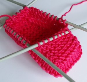 knitted baby shoes pattern