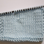 wrap and turn knitting technique