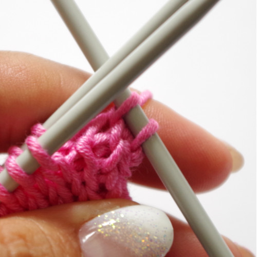 How to fold your knitting without sewing Pattern Duchess