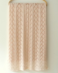 knit lace shawl pattern