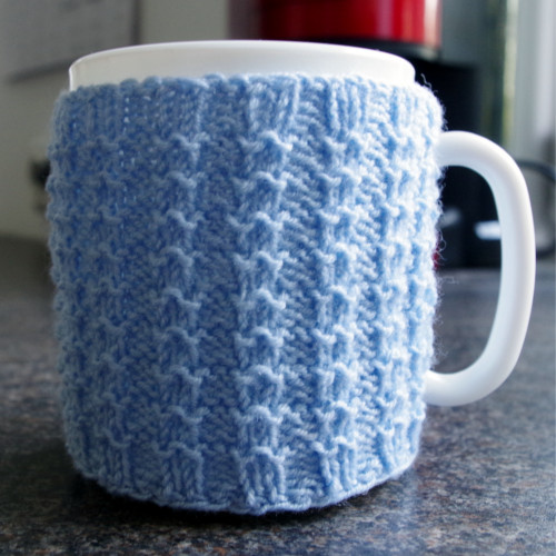 Knitted Mug Warmers Pattern : Knitted cup cozy pattern Pattern Duchess