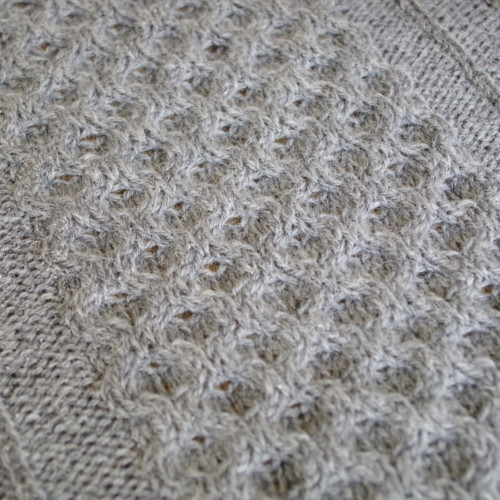pattern for knit cable afghan