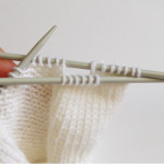 knitting pattern for pleats