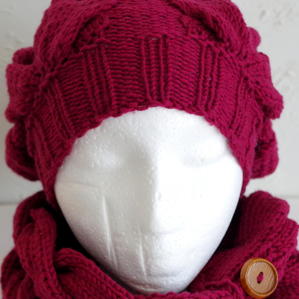 King size winter hat pattern duchess chunky cable hat knitting pattern bankloansurffo Images