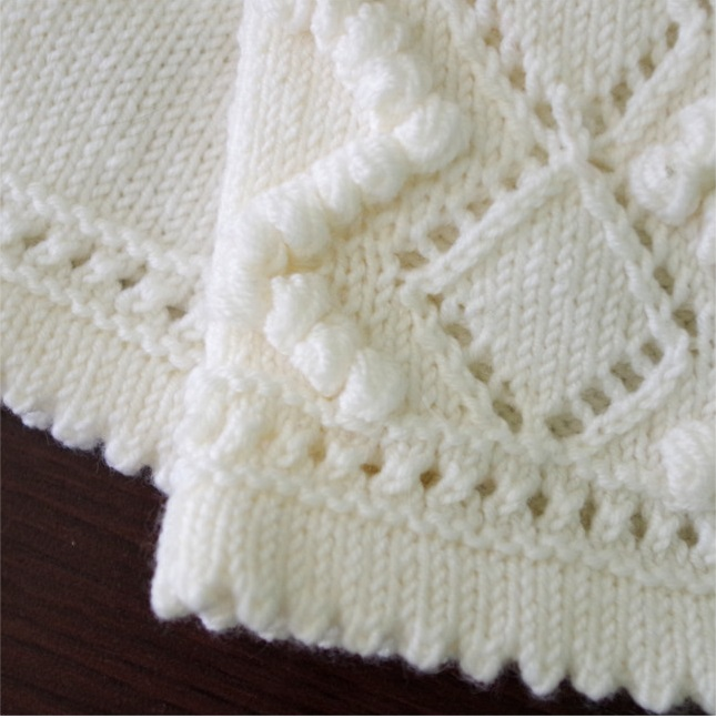 Knitting Edges And Borders : Eyelet lace knitting how and why pattern duchess
