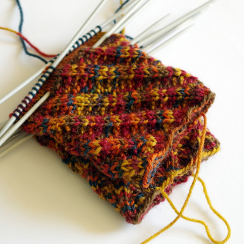 How to knit socks   cast on, cuff and leg (part 2) Pattern Duchess