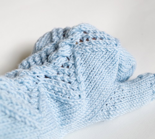 How to knit (fingerless) mittens