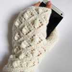 Lacy fingerless gloves pattern
