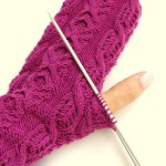 how to knit thumb for mittens