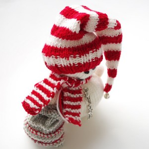 knitting pattern for snowman