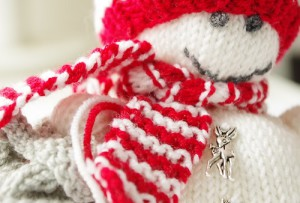 snowman knitting instructions