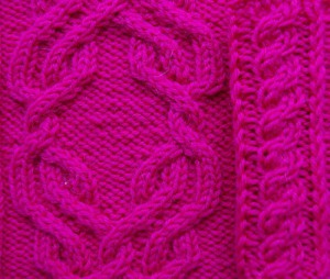 Cable pattern option 3