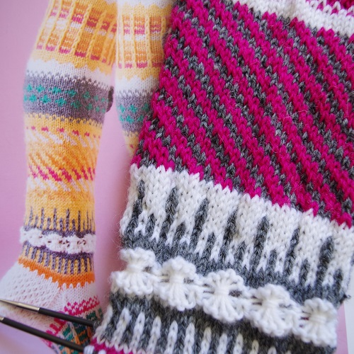 Knitted socks Anelmaiset