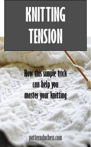 Knitting tension – how this simple trick can help you master your knitting