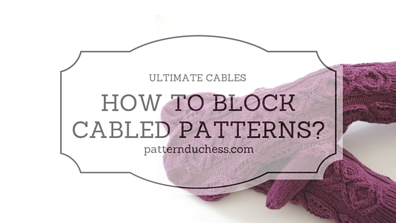 How to block cabled items?