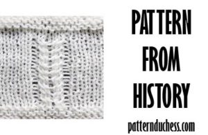 Twists from 1984 - pattern from history - Pattern Duchess