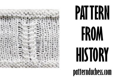 Pattern from history – twists from 1984