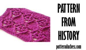 pattern from history purple heart from 1987