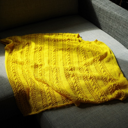 Big Project Monday – Big Yellow Finished!