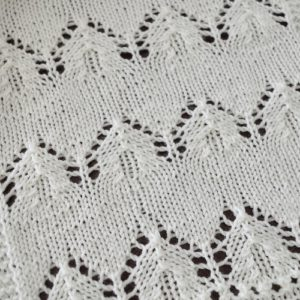 Lace pattern for Weekend Scarf