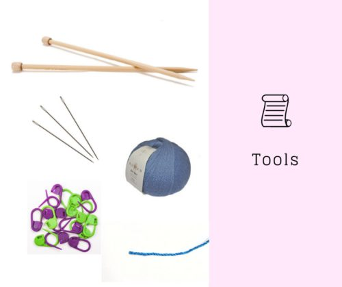 Tools you will need to knit Estonian lace shawl