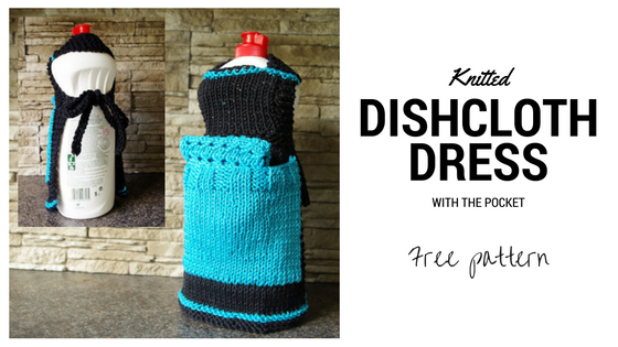 Knit Dishcloth Dress Free Knitting Pattern Pattern Duchess