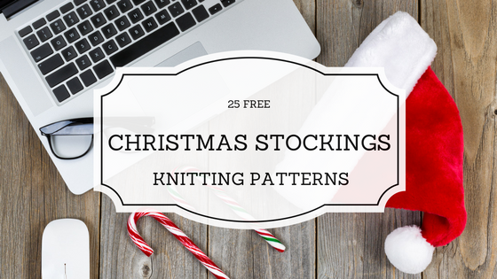 25 free knitting patterns for christmas stockings pattern duchess