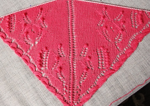 Big Project Monday – Spring Shawl #2