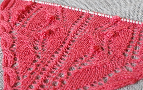 Big Project Monday – Spring Shawl #1