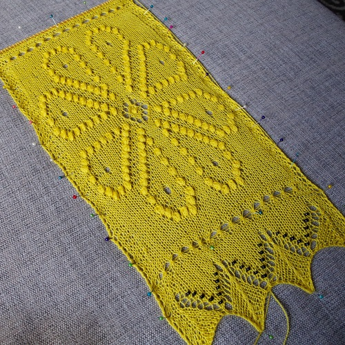 Estonian Sampler Scarf – March