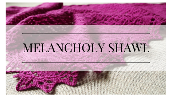 Melancholy shawl knitting pattern