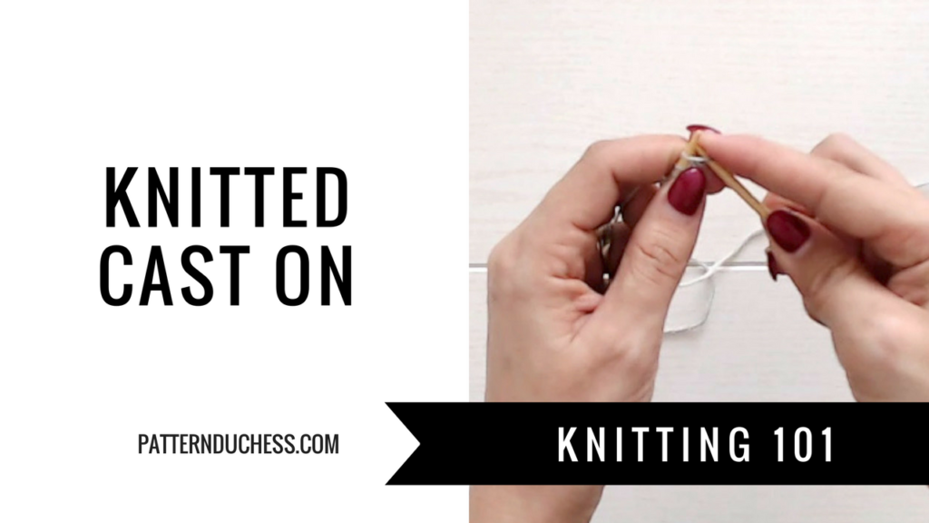 Knitted Cast On