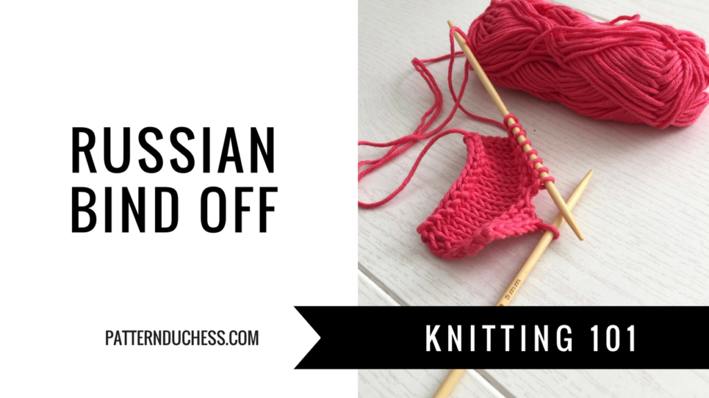 Russian bind off