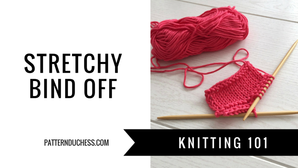 Stretchy bind off